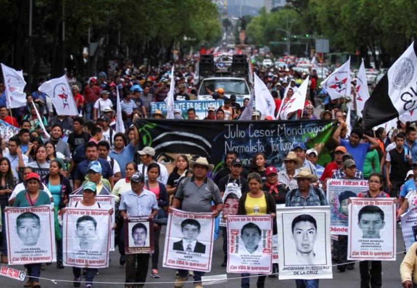 Desaparición de los 43,  reflejo de la marginación | El Imparcial de Oaxaca
