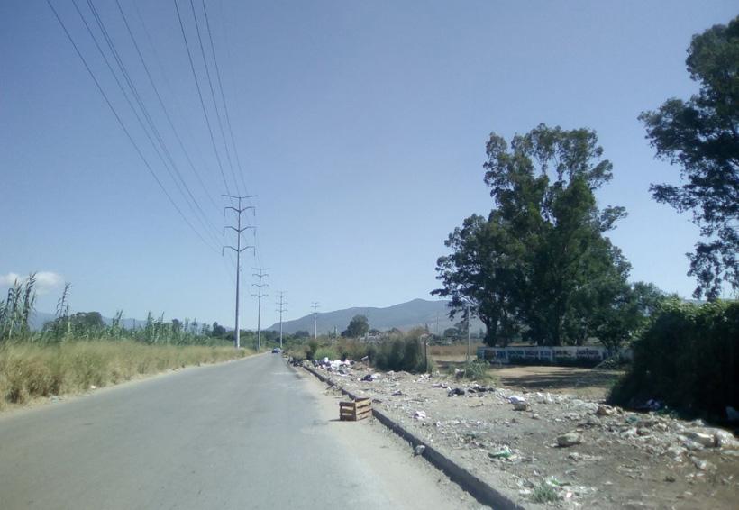 Tiraderos clandestinos, problemática ambiental en Oaxaca