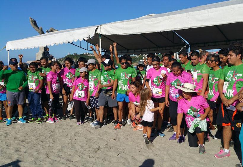 Realizan octava carrera con causa Heineken 2017 en Puerto Escondido