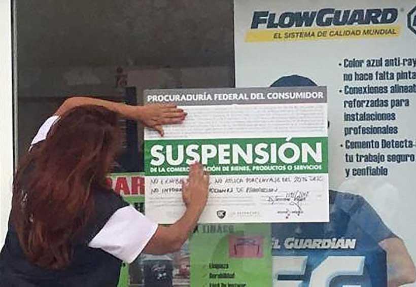 Clausura Profeco seis empresas en el Istmo de Tehuantepec | El Imparcial de Oaxaca