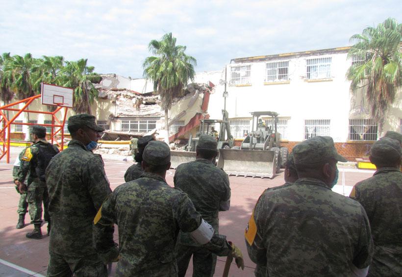 Reconstrucción de Centro  Escolar y Hospital de Juchitán, concluirán en marzo y abril | El Imparcial de Oaxaca