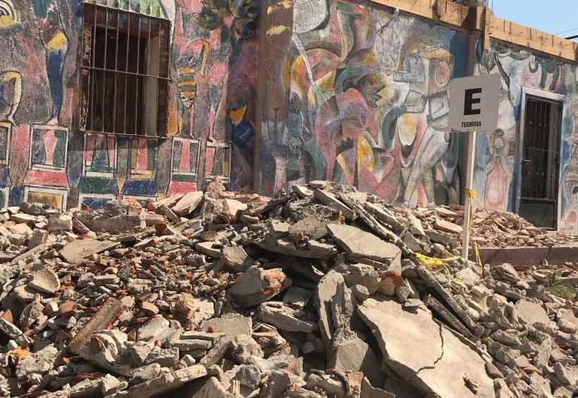 A casi 90 días del sismo,  todo sigue entre escombros | El Imparcial de Oaxaca