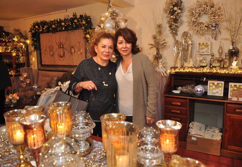 Inauguran boutique de navidad