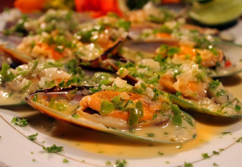 Mejillones con almendras   El Imparcial de Oaxaca