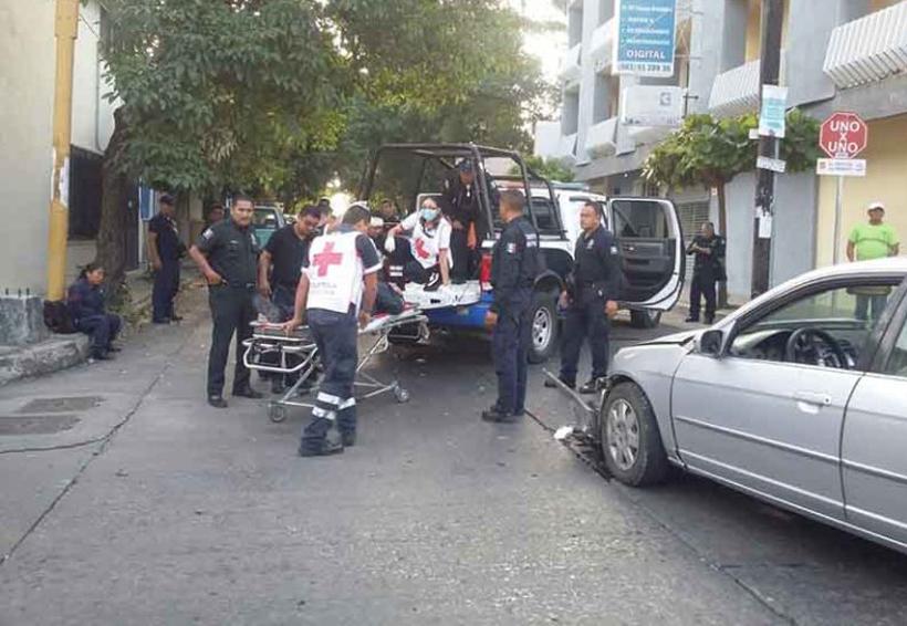 Policías heridos en accidente | El Imparcial de Oaxaca