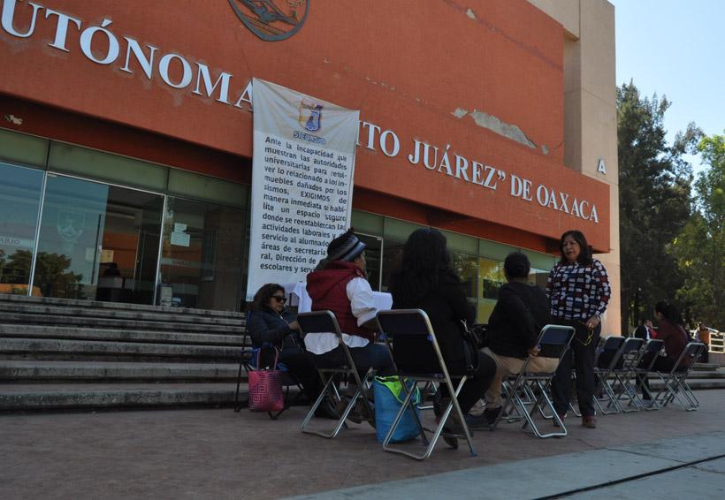 Paraliza STEUABJO a la universidad | El Imparcial de Oaxaca