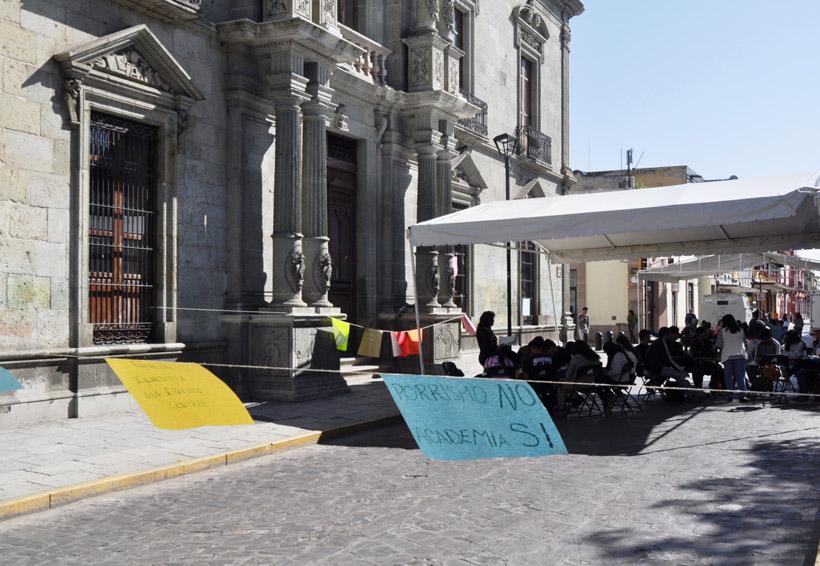 Pocos estudiantes toman clases en las calles de Oaxaca | El Imparcial de Oaxaca