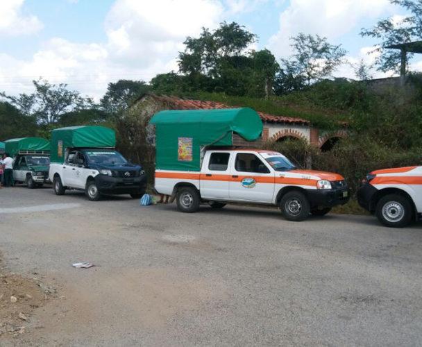 Transportistas de la costa de Oaxaca  detectan unidad pirata