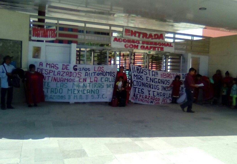 Triquis desplazados en Oaxaca exigen respuestas | El Imparcial de Oaxaca
