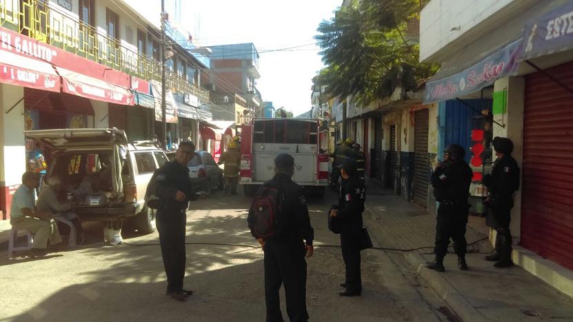 Arde predio abandonado en el centro de la ciudad de #Oaxaca | El Imparcial de Oaxaca