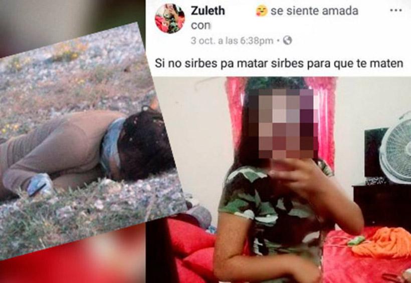 Jovencita presumía su gusto por el 'narco' en su Facebook, la ejecutan | El Imparcial de Oaxaca