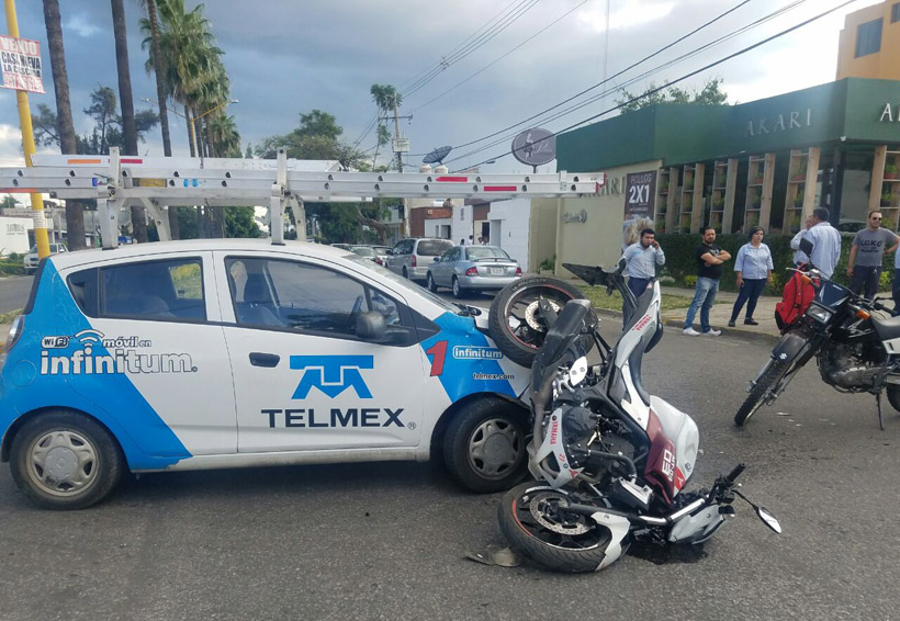Arrollan a motorista en la colonia Reforma, Oaxaca | El Imparcial de Oaxaca