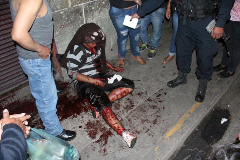 Lo tunden a golpes en el mercado 20 de Noviembre acusado de robo | El Imparcial de Oaxaca