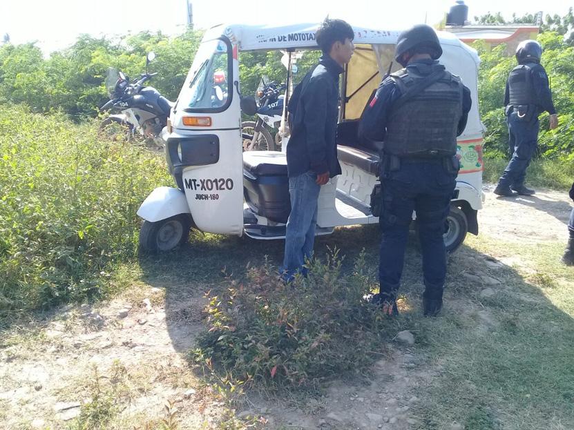 Recuperan mototaxi  robado en Juchitán, Oaxaca | El Imparcial de Oaxaca