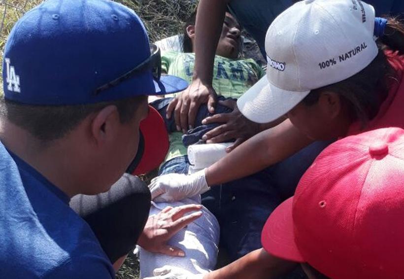 Se recupera niño herido al estallarle un cohetón en Santiaguito Etla, Oaxaca | El Imparcial de Oaxaca