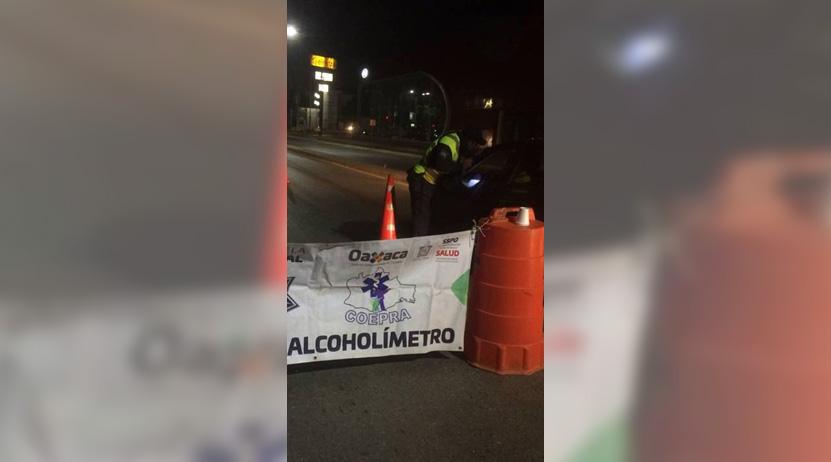 Caen 26 al conducir borrachos en Oaxaca | El Imparcial de Oaxaca