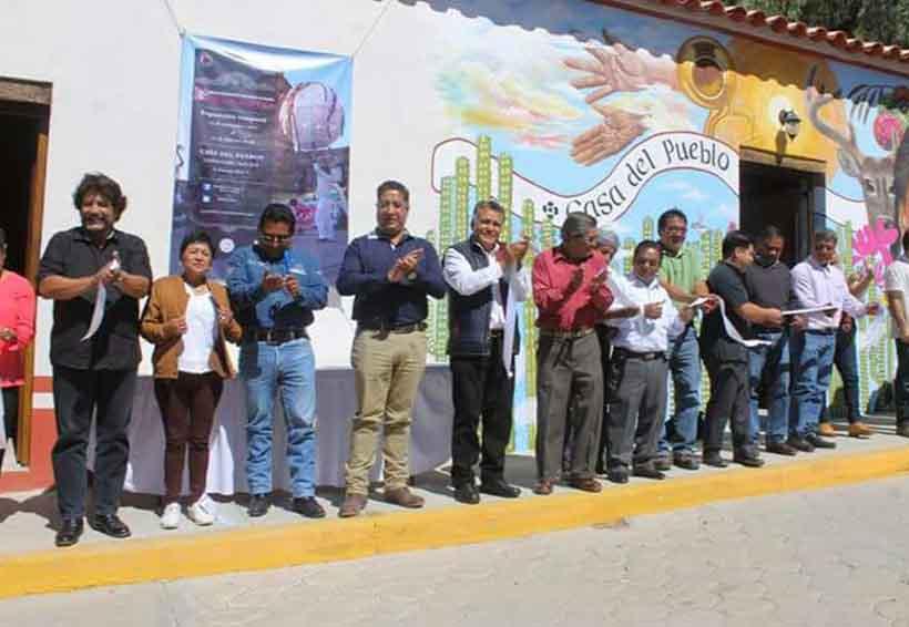 Inauguran última exposición itinerante en Cosoltepec, Oaxaca