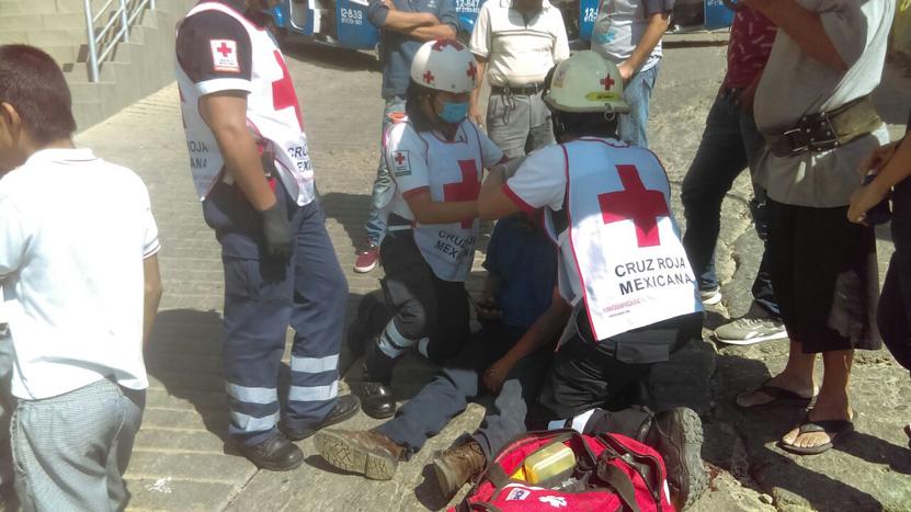Abandonado tras choque en  la colonia Linda Vista, Oaxaca | El Imparcial de Oaxaca