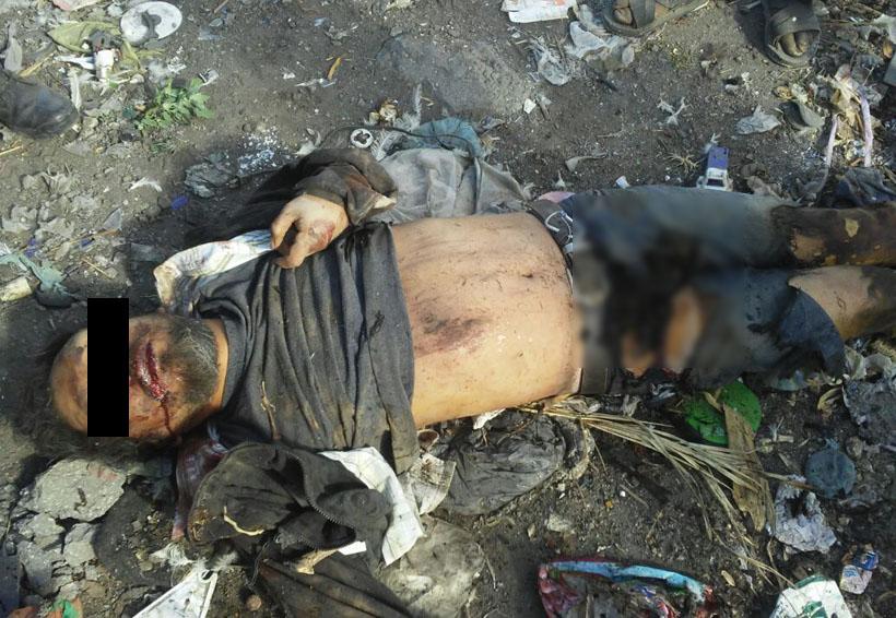 Prenden fuego a presuntos ladrones en localidad de Oaxaca