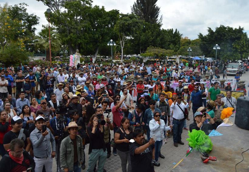 En la Mixteca de Oaxaca fortalecen organización contra megaproyectos