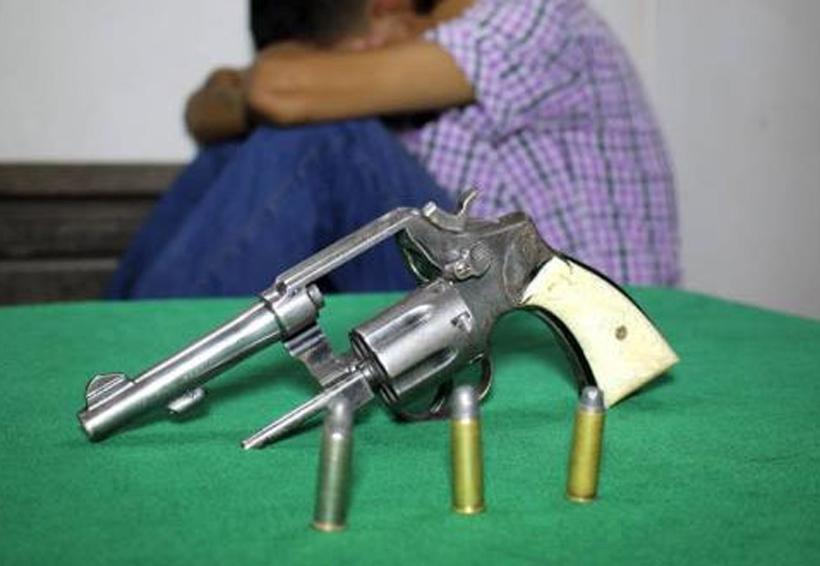 Capturan a adolescente armado por robo a cada habitación | El Imparcial de Oaxaca