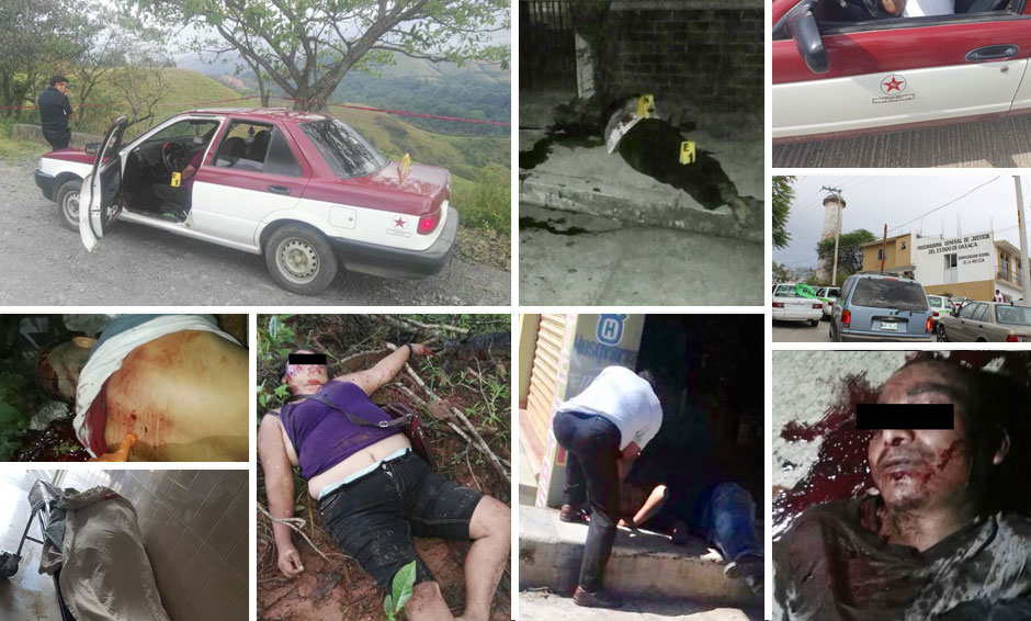 Nueve homicidios de octubre a noviembre en la Mixteca de Oaxaca | El Imparcial de Oaxaca