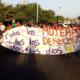Mujeres marchan en Juchitán por el Día Naranja