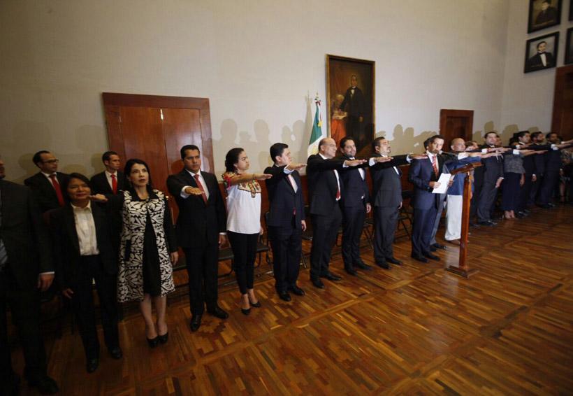 El gabinete de Alejandro | El Imparcial de Oaxaca