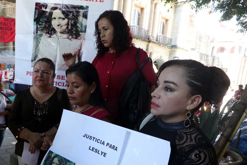 Demandan justicia  en el caso de Leslie | El Imparcial de Oaxaca