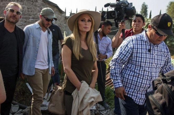 Paris Hilton visita a niños damnificados en Xochimilco | El Imparcial de Oaxaca