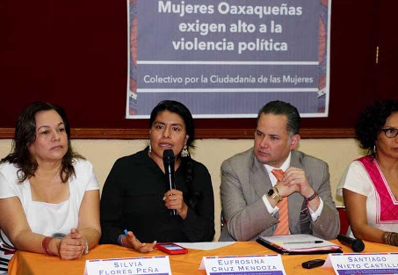 Cuestiona colectivo de mujeres salida de Nieto en Fepade | El Imparcial de Oaxaca