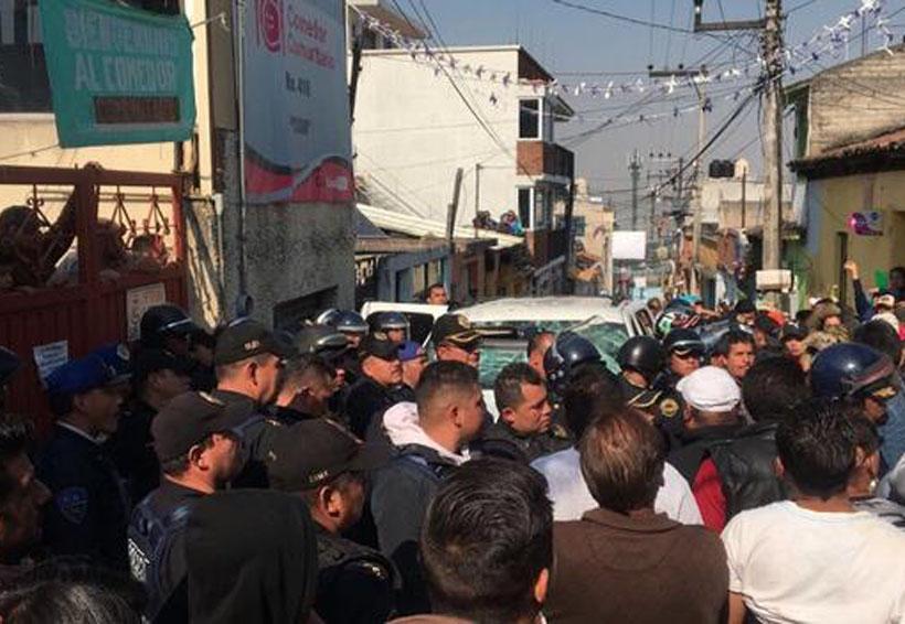 Pobladores de Cuajimalpa querían linchar a chofer de Uber | El Imparcial de Oaxaca