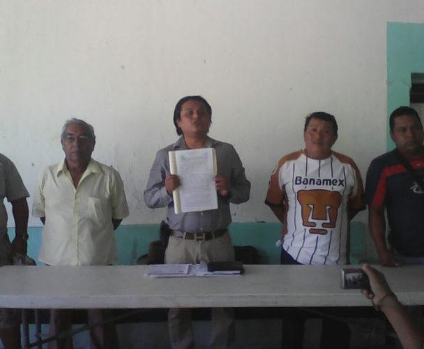 Denuncian a usurpadores en Santo Domingo Tehuantepec, Oaxaca