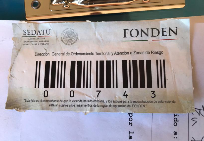 Damnificados de Oaxaca viven viacrucis