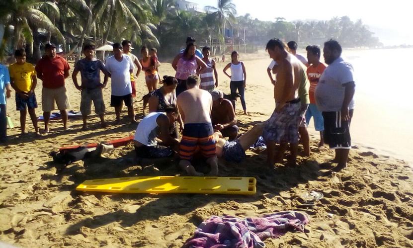 Muere extranjero en San Agustinillo, Tonameca, Oaxaca | El Imparcial de Oaxaca