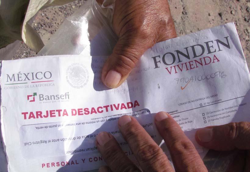 Desesperación en el Istmo por tarjetas de  Bansefi sin fondos | El Imparcial de Oaxaca