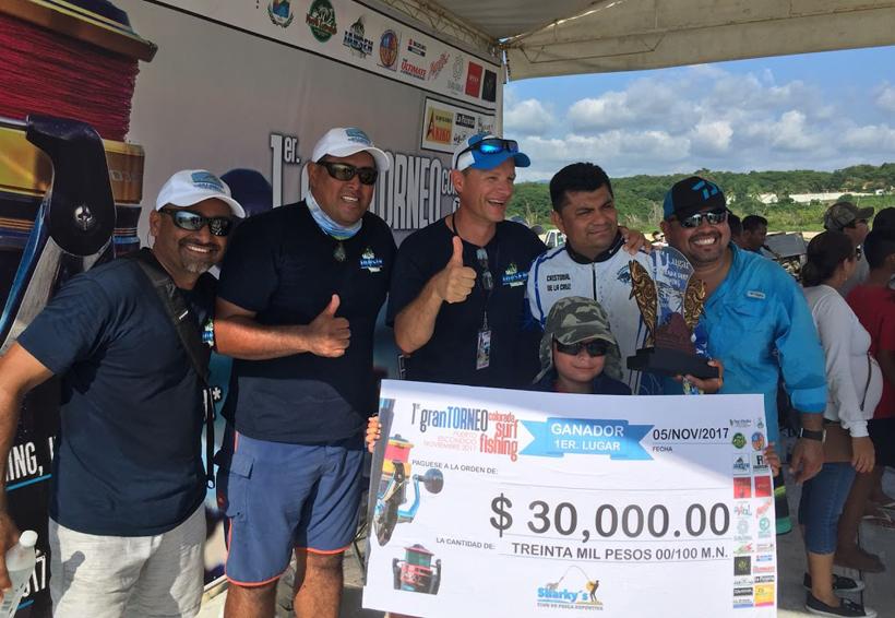 Un éxito el primer gran Torneo  Colorada Surffishing 2017