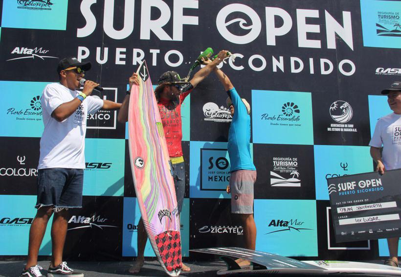 Culmina Torneo Abierto de Surf en Puerto Escondido, Oaxaca