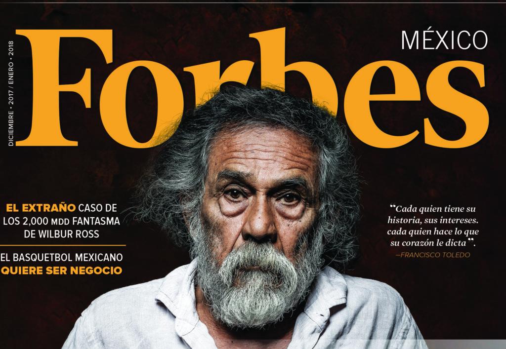 Francisco Toledo, entre los mexicanos más creativos del 2017 según Forbes | El Imparcial de Oaxaca