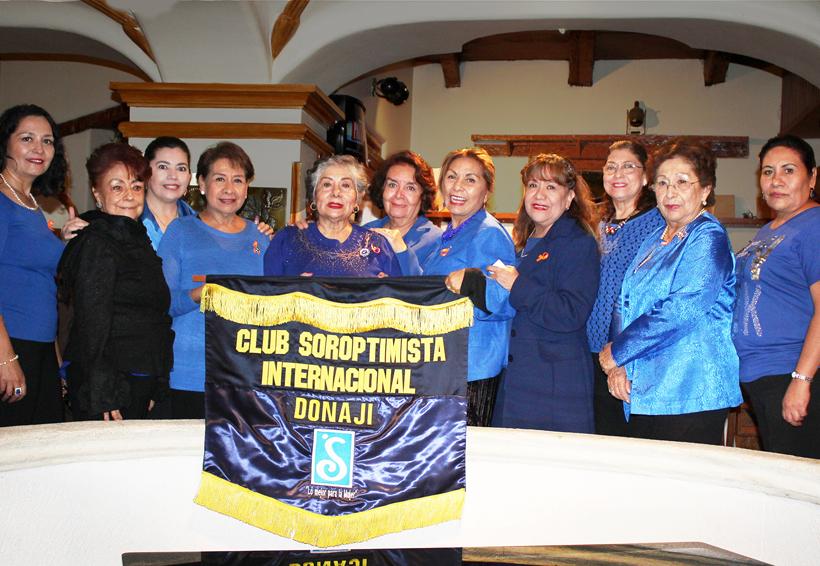 Club Soroptimista Internacional Donají realiza una amena velada