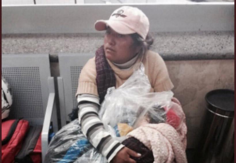 Mujer intenta viajar en autobús con el cuerpo de su hijo envuelto en cobijas y bolsa | El Imparcial de Oaxaca