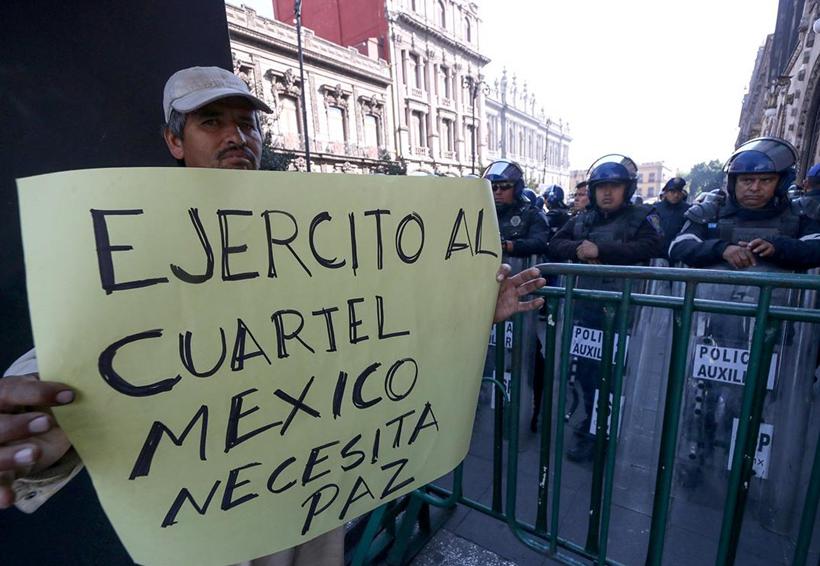 Intervención de las fuerzas  armadas agudizó la violencia | El Imparcial de Oaxaca