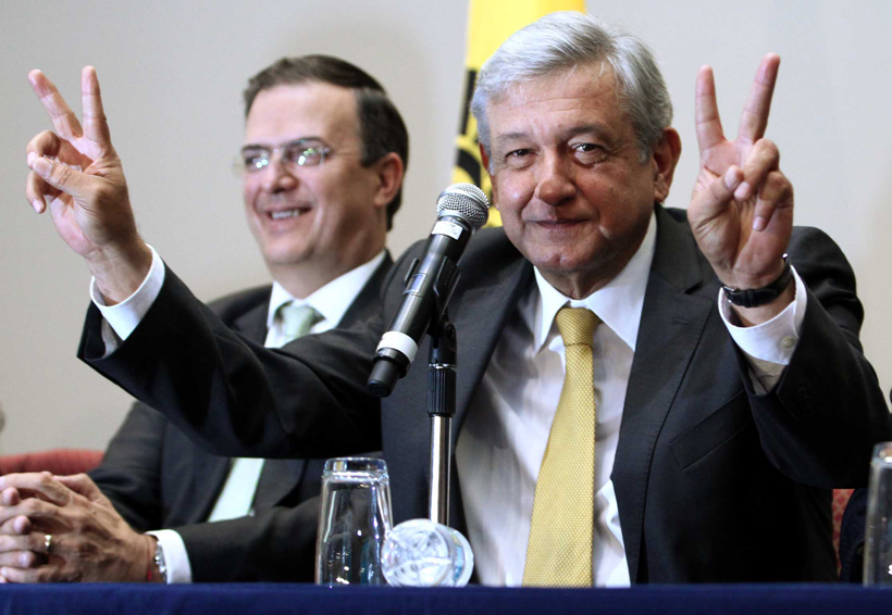 Marcelo Ebrard no quiere candidaturas, sólo cuidará el voto: AMLO | El Imparcial de Oaxaca