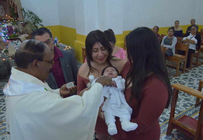 Jesús Alejandro recibió el bautizo