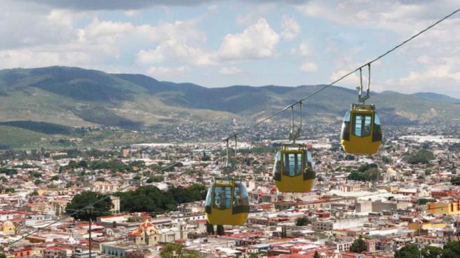 Presentan proyecto para teleférico en Oaxaca | El Imparcial de Oaxaca