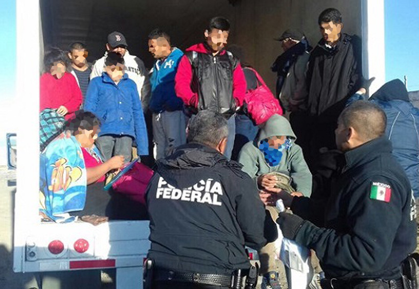 Rescatan de tráiler a 29 migrantes | El Imparcial de Oaxaca