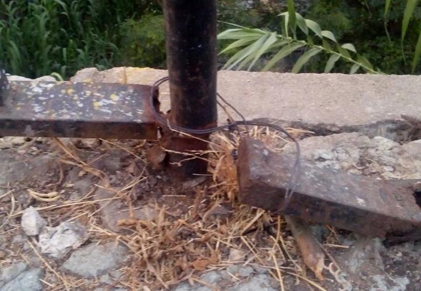 Abandono y vandalismo en parques de Oaxaca