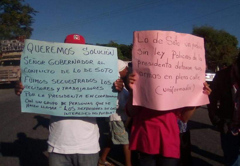 Afromexicanos de Lo de Soto señalan falta de obra