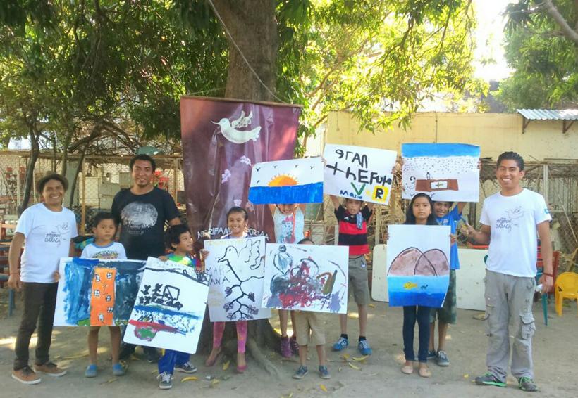 Artistas llevan esperanza al Istmo de Oaxaca
