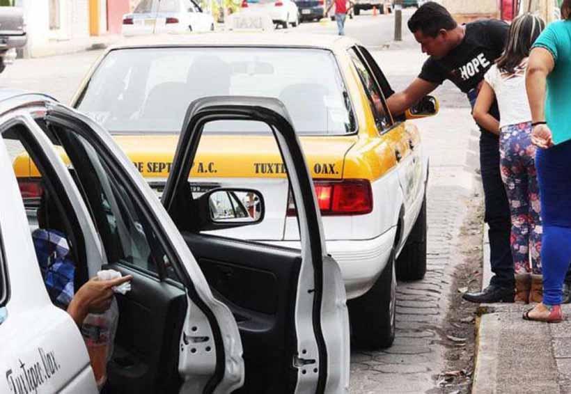 Aumentan los usuarios de taxi en Tuxtepec, Oaxaca | El Imparcial de Oaxaca